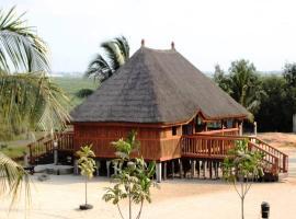 ASSOUKA Eco-Village du lac Nokoué, Abomey-Calavi (Near Sô-Ava)