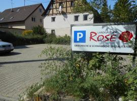 Landgasthof Rose, Schöckingen