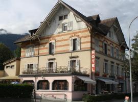 Hotel de la Gare, Monthey