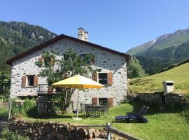 Romantic, standal. 5½ room cottage, Poschiavo