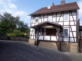Ferienhaus am Rosenberg, Alheim (Rengshausen yakınında)
