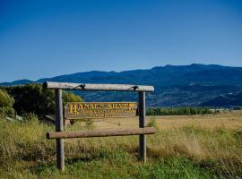 Hansen Guest Ranch, Swan Valley (in de buurt van Alpine)