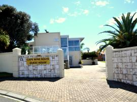 Cape Wine Route Guest House, Brackenfell