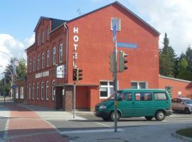 Hotel Grüner Kranz, Rendsburg (Fockbek yakınında)