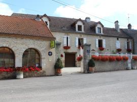 Hotel le Vauxois, Vaux-sous-Aubigny (рядом с городом Rivières-les-Fosses)