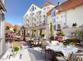 Hotel Traube am See, Friedrichshafen (Fischbach yakınında)