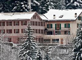 BnB Hôtel des Bains, L'Etivaz (Perto de Les Mosses)