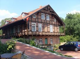 Ferienappartements Schweizer Haus, Stolpe (Felchow yakınında)