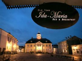 Old Town B&B Ida-Maria, Порвоо (рядом с городом Hinthaara)
