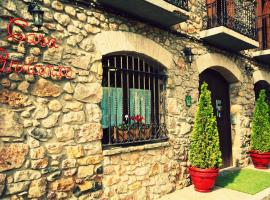 Casa Parranxo, Senterada (рядом с городом La Pobleta de Bellvei)