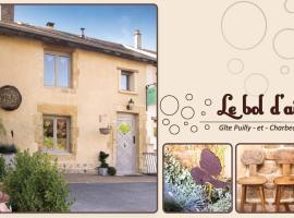 Gîte Le Bol d'Air, Puilly-et-Charbeaux