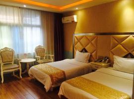 Shiyan Baian SOHO Hotel Tianjin Road Branch, Shiyan (Bailangtang yakınında)