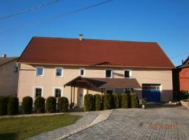 Holiday house David, Stružná (Andělská Hora yakınında)