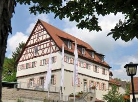 Hotel & Restaurant Amtshaus, Mulfingen-Ailringen (Heimhausen yakınında)