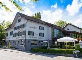Hotel Badhof, Altstätten (Kriessern yakınında)