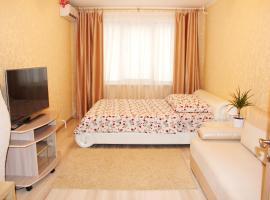 Apartment on Russianova, Minsk (Ozerishche yakınında)