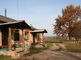 Shadrin Village House, Zaluzzie (Petrovichi yakınında)