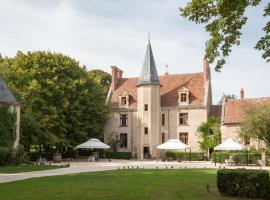 Château - Hôtel Le Sallay, Маньи-Кур (рядом с городом Neuvy Le Barrois)