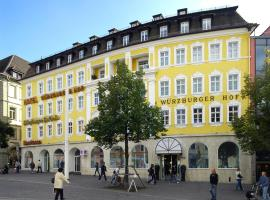 Hotel Würzburger Hof 4 Star This Is A Preferred Property They Provide Excellent Service Great Value And Have Awesome Reviews From