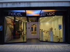 Zerupe Hotel, Зараутц
