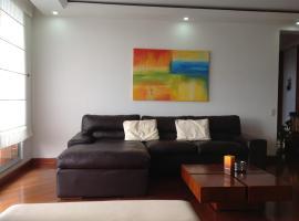 Apartamento Av Parque, Bogotá (El Salitre yakınında)