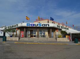 Hotel Rausan, Alfajarín (Puebla de Alfindén yakınında)