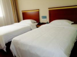 GreenTree Inn ShangHai BaoShan 128 Memorial Road TongHe Road Shell Hotel, Baoshan (Songnan yakınında)