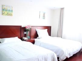 GreenTree Inn Shandong Binzhou Wanda Plaza Huangheshilu Express Hotel, Binzhou (Yangjiaji yakınında)
