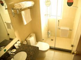 GreenTree Inn Jiangsu Taizhou Gaogang District Government Business Hotel, Taizhou (Kou'an yakınında)