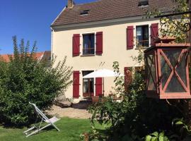 Gite Les Volets Rouges, Vigny (рядом с городом Avernes)