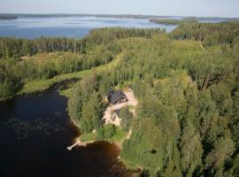 Lomalehto Cottages, Ahvionniemi (рядом с городом Lohikoski)