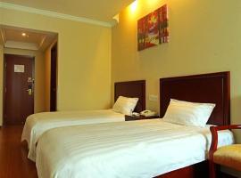 GreenTree Inn Jiangsu Nantong Tongzhou Bus Station Express Hotel, Tongzhou (Wujiamatou yakınında)