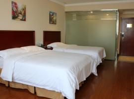 GreenTree Inn Shanxi Jinzhong Yuci Taiyu Road Cultural and Educational City Business Hotel, Jinzhong (Wuli yakınında)