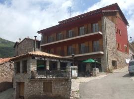 Hostal Alt Llobregat, Castellar de N'Hug (рядом с городом La Pobla de Lillet)
