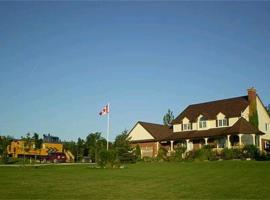 Clearview Station & Caboose B&B, Creemore (Mansfield yakınında)