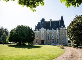 Au Chateau de Montbraye, Parigné-l'Évêque (рядом с городом Brette-les-Pins)