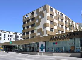 Centerpark Apartments, Visp (Ausserberg yakınında)