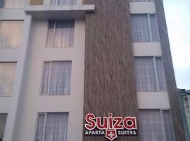 Hotel Suiza Aparta Suites, Ipiales (Teques yakınında)