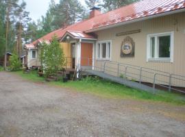 Koirasalmen Luontotupa, Kivijärvi (рядом с городом Kinnula)