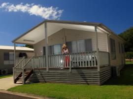 Corrimal Beach Tourist Park, Wollongong (Towradgi yakınında)