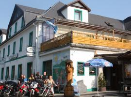 Hotel-Gasthof zur Krone, Saalburg (Mühlberg yakınında)