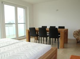 Danube Apartment with City View, Viyana (Donaufeld yakınında)