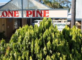Lone Pine Motel, Corowa (Hopefield yakınında)