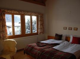 Il Baduogn Alpine, S-chanf (Cinuos-Chel yakınında)
