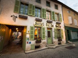 Hotel de la Halle, Nolay (рядом с городом Molinot)