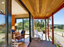 Otway Escapes Luxury Spa Cottage Accommodation Victoria, Pennyroyal (Birregurra yakınında)