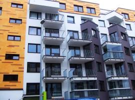 Apartment Zaksinska, Prag (Letňany yakınında)