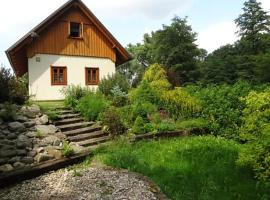 Holiday Home Pustiny, Mezilečí (Hořičky yakınında)