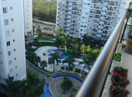 Apartamento Resort Barra, Rio de Janeiro (Restinga de Itapeba yakınında)