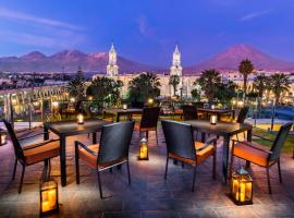 Katari Hotel at Plaza de Armas, Arequipa